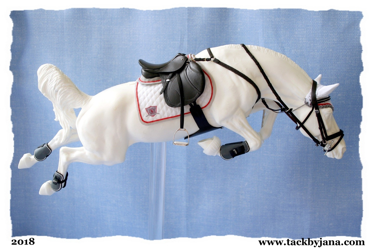 Tack Sets For Model Horses Made By Jana Skybova
